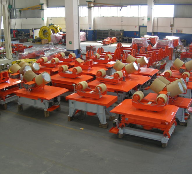 Pipe Handling Equipment - Castorone Vessel