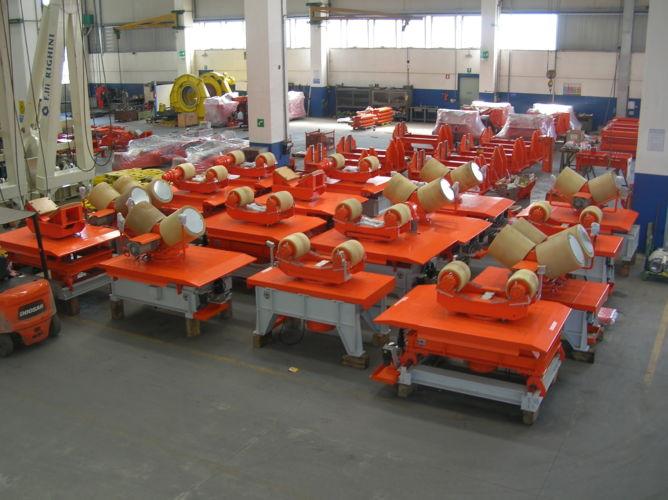 Pipe Handling Equipment – Castorone Vessel
