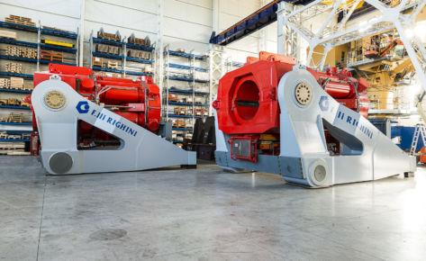 Stinger Handling System – JSD 6000 Vessel