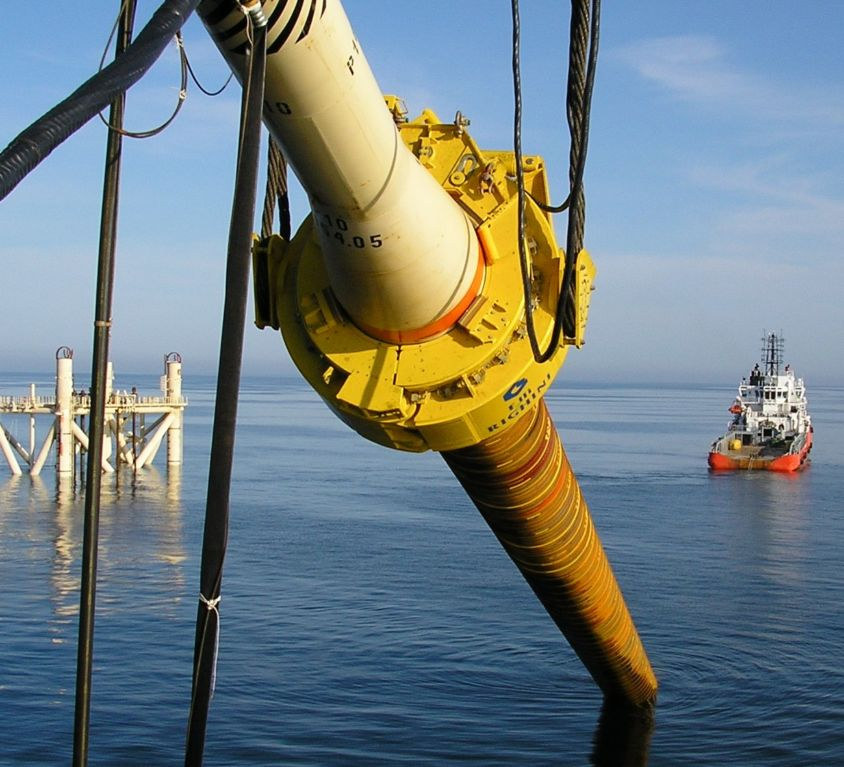 Offshore External Lifting Tool