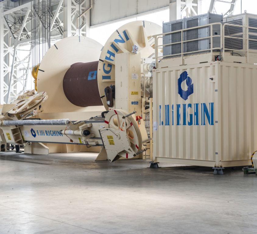 A&R Storage Winch – Deep Blue Pipelaying Vessel